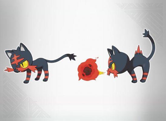 Pokemon Sun and Moon Litten