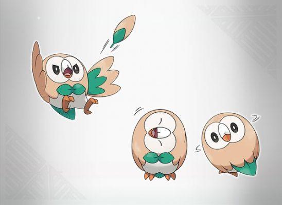 Pokemon Sun and Moon - Rowlet