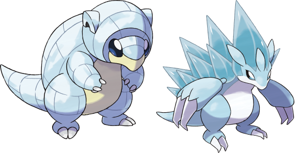 Alolan Sandshrew and Slash