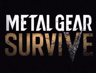 Konami Announces Metal Gear Survive at Gamescom 2016