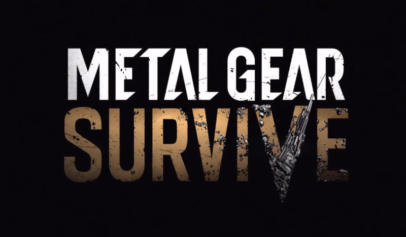 Konami Announces Metal Gear Survive at Gamescom 2016