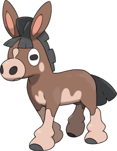Mudbray - Pokemon Sun and Moon