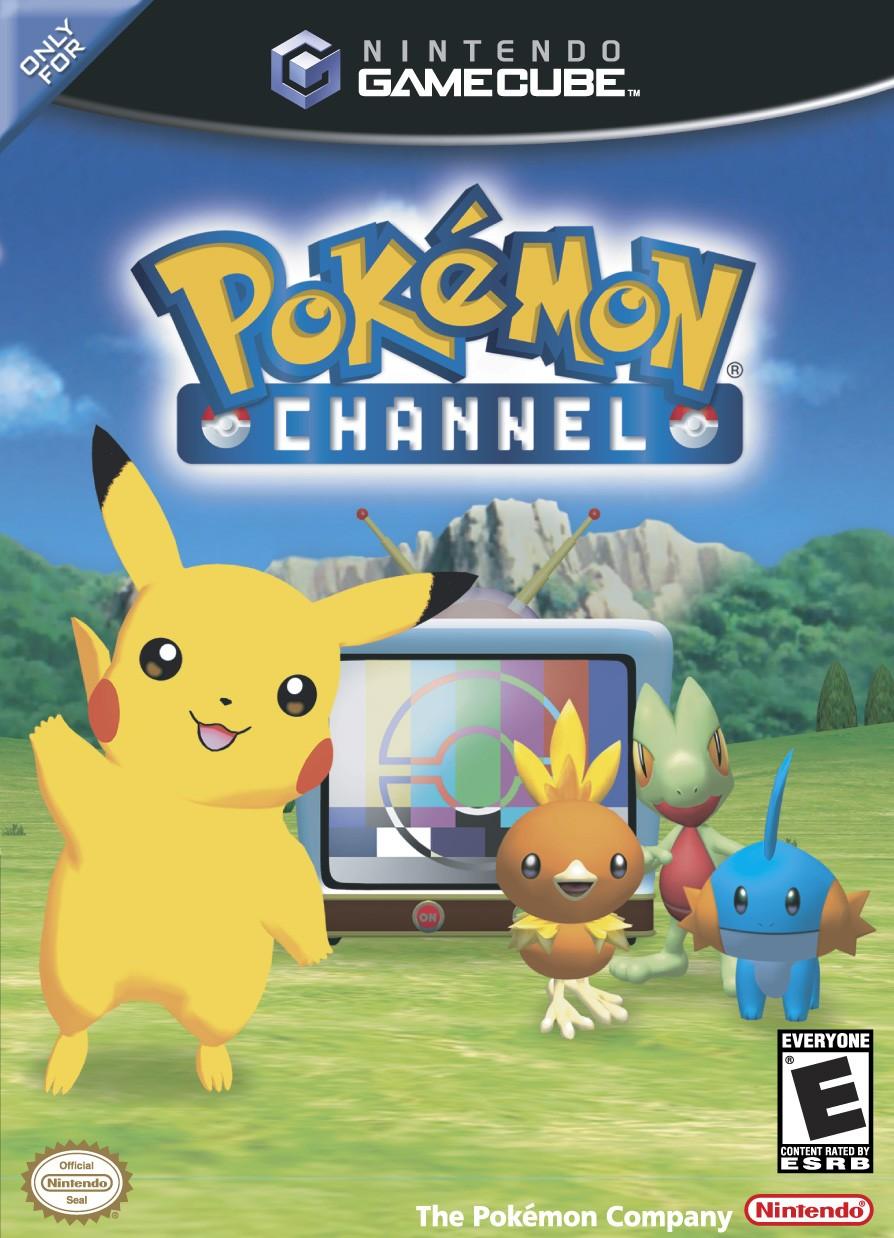 Pokemon Channel box art.