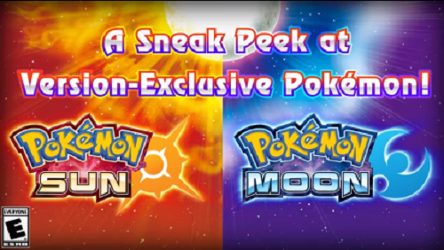 New Pokemon Sun and Moon Trailer Reveals New Features And Version-Exclusives