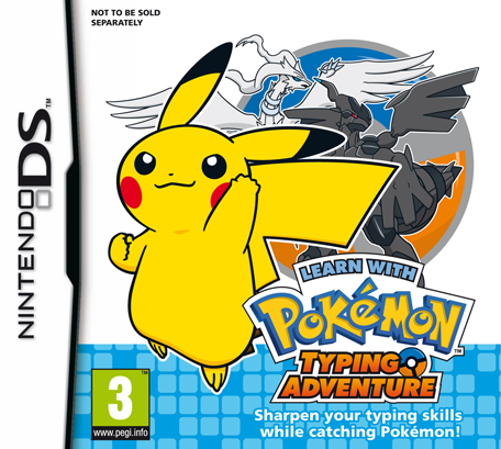 Learn with Pokemon: Typing Adventure box art.