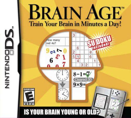 Brain Age Box Art