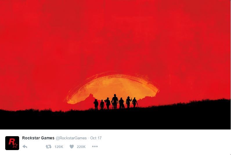 Red Dead Redemption 2 Twitter teaser 2