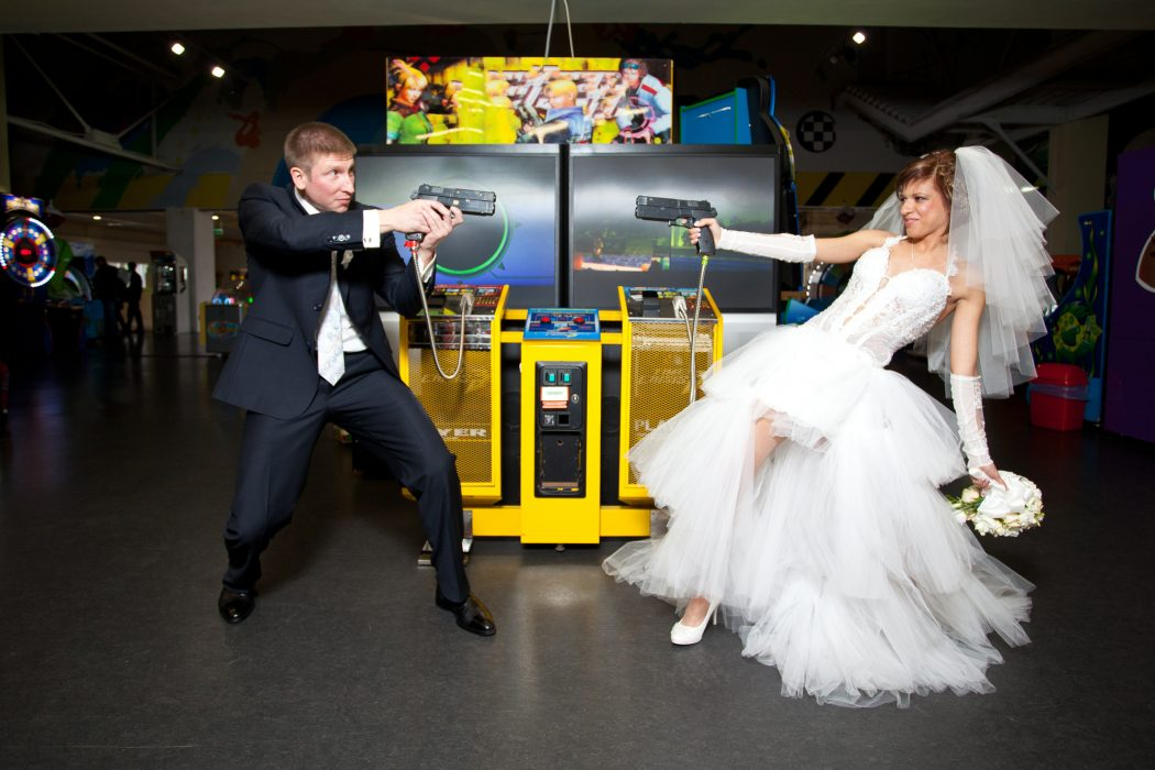 video game wedding