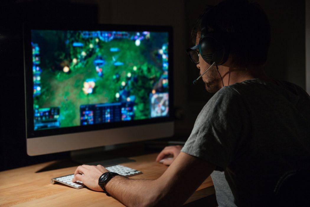 pc gaming posture